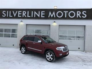Used 2013 Jeep Grand Cherokee Overland for sale in Winnipeg, MB
