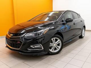 Used 2018 Chevrolet Cruze LT RS *SIEGES CHAUF* CAMERA *BLUETOOTH* USB *PROMO for sale in St-Jérôme, QC