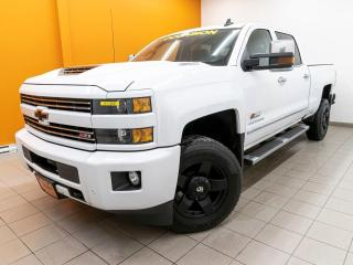 Used 2018 Chevrolet Silverado 2500 CUSTOM SPORT LTZ CREW DIESEL 4X4 *TOIT* NAV *PROMO for sale in Mirabel, QC