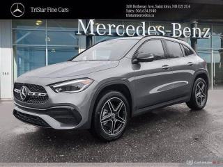 New 2021 Mercedes-Benz GLA GLA 250 for sale in Saint John, NB