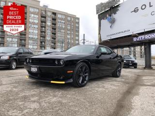 New 2021 Dodge Challenger R/T, 5.7L HEMI, Leather Seats, Sunroof, 8.4 inch display, Navi for sale in North York, ON