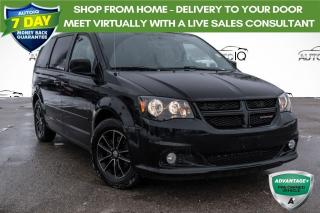 Used 2015 Dodge Grand Caravan SE/SXT ONE OWNER!! CLEAN CARFAX! for sale in Barrie, ON