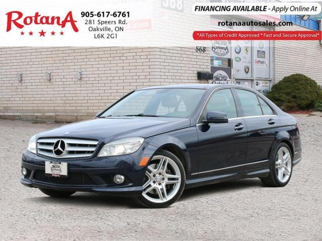2010 Mercedes-Benz C-Class C 350_AMG PKG_PANO ROOF_NAVI_BT_LEATHER