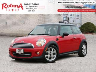 Used 2013 MINI Cooper LEATHER_SUNROOF_BLUETOOTH for sale in Oakville, ON