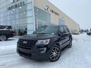 Used 2017 Ford Explorer SPORT, 4WD, ACCIDENT FREE for sale in Edmonton, AB