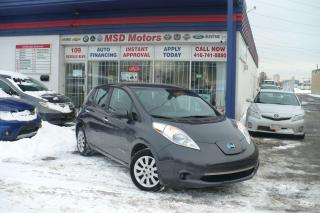 Used 2013 Nissan Leaf S for sale in Toronto, ON