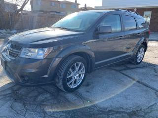 Used 2016 Dodge Journey Limited with 7 Seats, DVD and Sunroof for sale in Oshawa, ON