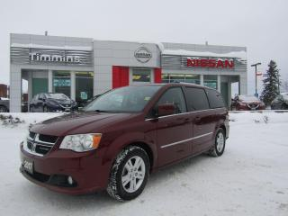 Used 2017 Dodge Grand Caravan Crew Plus for sale in Timmins, ON