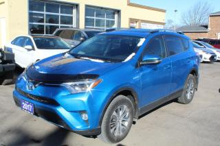 Used 2017 Toyota RAV4 XLE Hybrid Sunroof for sale in Brampton, ON