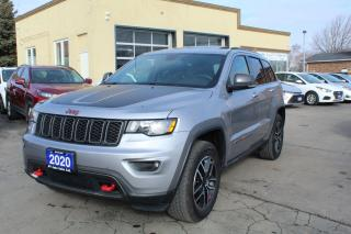 Used 2020 Jeep Grand Cherokee Trailhawk for sale in Brampton, ON