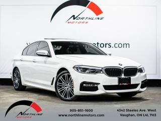 Used 2017 BMW 5 Series 530i xDrive/M-Sport/Heads Up Disp/360 Cam for sale in Vaughan, ON