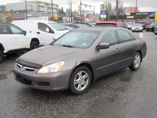 Used 2006 Honda Accord SE for sale in Vancouver, BC