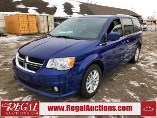 Used 2019 Dodge Grand Caravan SXT Wagon 3.6L for sale in Calgary, AB