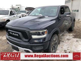 Used 2019 RAM 1500 Rebel Crew CAB SWB 4WD 5.7L for sale in Calgary, AB