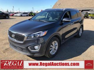 Used 2018 Kia Sorento LX 4D Utility AT AWD 2.4L for sale in Calgary, AB