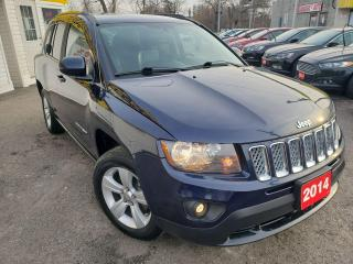Used 2014 Jeep Compass NORTH/4WD/LEATHER/BLUETOOTH/LOADED/ALLOYS for sale in Scarborough, ON