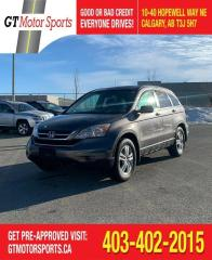 Used 2010 Honda CR-V EX | $0 DOWN - EVERYONE APPROVED! for sale in Calgary, AB