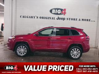 Used 2017 Jeep Cherokee OVERLAND for sale in Calgary, AB