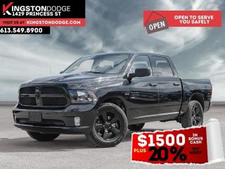 New 2021 RAM 1500 Classic NIGHT EDITION for sale in Kingston, ON