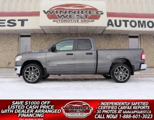 Used 2019 Dodge Ram 1500 NEW GEN SXT 395HP 5.7L HEMI 4X4, 22