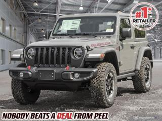 New 2021 Jeep Wrangler RUBICON for sale in Mississauga, ON