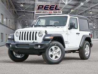 New 2021 Jeep Wrangler SPORT for sale in Mississauga, ON