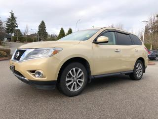 Used 2013 Nissan Pathfinder 2WD 4DR S for sale in Surrey, BC