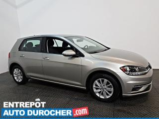 Used 2019 Volkswagen Golf COMFORTLINE AUTOMATIQUE - SIÈGES CHAUFFANTS - A/C for sale in Laval, QC