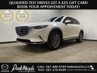Used 2021 Mazda CX-9 GT CAPTAIN CHAIRS for sale in Sherwood Park, AB