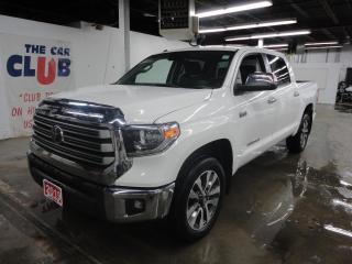 Used 2019 Toyota Tundra 4x4 Crewmax Limited 5.7L w/ Sunroof & Leather for sale in Carp, ON