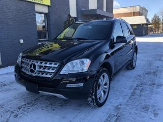 Used 2011 Mercedes-Benz ML-Class 4MATIC 3.5L for sale in Nobleton, ON