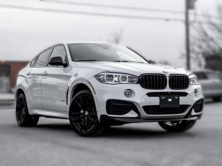 Used 2017 BMW X6 MSPORT |CARBON FIBER|NAV |BACKUP|HUD |LOADED for sale in North York, ON