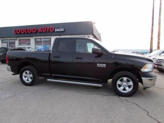 Used 2014 RAM 1500 Tradesman 3.6L V6 4WD Certified for sale in Milton, ON