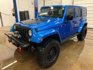 Used 2014 Jeep Wrangler Unlimited Sahara 4WD for sale in Windsor, ON