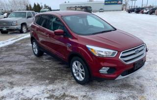 Used 2017 Ford Escape SE FWD #New Tires #Heated Seats #Bluetooth for sale in Brandon, MB