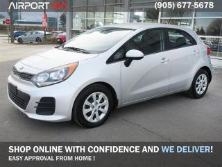 Used 2017 Kia Rio5 PRE OWNED LX+//No Accident/Lease Return/Bluetooth/Power Package for sale in Mississauga, ON