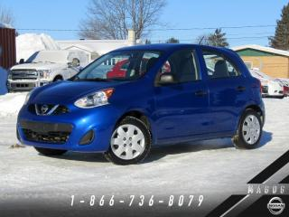 Used 2015 Nissan Micra S + AIR CLIMATISÉ + BAS KILO! for sale in Magog, QC