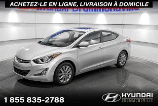 Used 2016 Hyundai Elantra SPORT + GARANTIE + TOIT + CAMERA + WOW!! for sale in Drummondville, QC