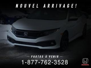 Used 2019 Honda Civic LX CVT+ TOUT ÉQUIPÉ+CONDITION IMPÉCCABLE for sale in St-Basile-le-Grand, QC