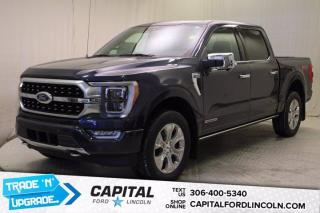 New 2021 Ford F-150 Platinum Powerboost Hybrid for sale in Regina, SK