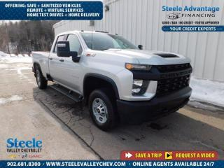 Used 2020 Chevrolet Silverado 2500 HD DBL 4wd - ONLY 36,000 km !! RARE !! 1 OWNER !! for sale in Kentville, NS