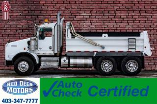 Used 2015 Kenworth T800 T/A Dump Truck Heavy Spec for sale in Red Deer, AB