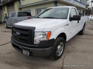 Used 2013 Ford F-150 WORK READY XL EDITION 3 PASSENGER 3.5L - ECO-BOOST.. REAR-WHEEL DRIVE.. REGULAR CAB.. 8-FOOT BOX.. TOW SUPPORT.. BACK-RACK.. IN-BED TOOL-BOX.. for sale in Bradford, ON