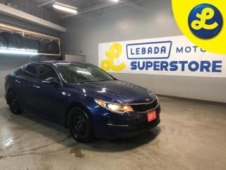 Used 2017 Kia Optima Push Button Start * Back Up Camera * Heated Steering Wheel * Heated Cloth Seats * Power Folding Mirrors * Memory Drivers Seat * for sale in Cambridge, ON