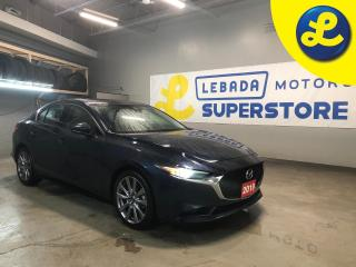 Used 2019 Mazda MAZDA3 GT * Navigation * Sunroof * Leather * Smart City Brake Support (SCBS) and Rear Cross Traffic Alert (RCTA) * Advanced Blind Spot Monitoring (ABSM) Blin for sale in Cambridge, ON