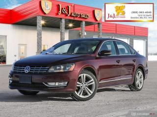 Used 2012 Volkswagen Passat 2.0 TDI Highline Diesel for sale in Brandon, MB