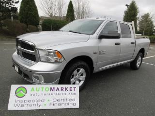 Used 2017 RAM 1500 CREW, HEMI, 4X4, INSP, WARR, BCAA MEMBERSHIP for sale in Surrey, BC