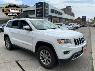 Used 2015 Jeep Grand Cherokee Limited - 4WD - Power Roof - Heated Steering Wheel - No Accidents - One Owner for sale in North York, ON