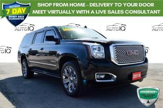 Used 2016 GMC Yukon XL Denali LOW LOW KMS for sale in Grimsby, ON