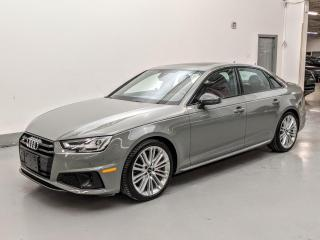 Used 2019 Audi S4 S4 TECHNIK/DRIVER ASSISTANCE/B&O/CARBON FIBER! for sale in Toronto, ON